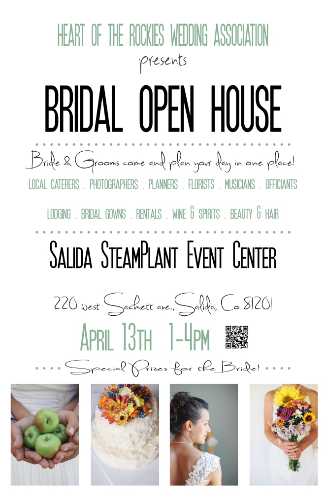 Bridal Open House Poster