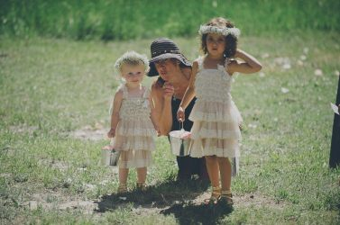 ericka with flower girls ben chernivsky
